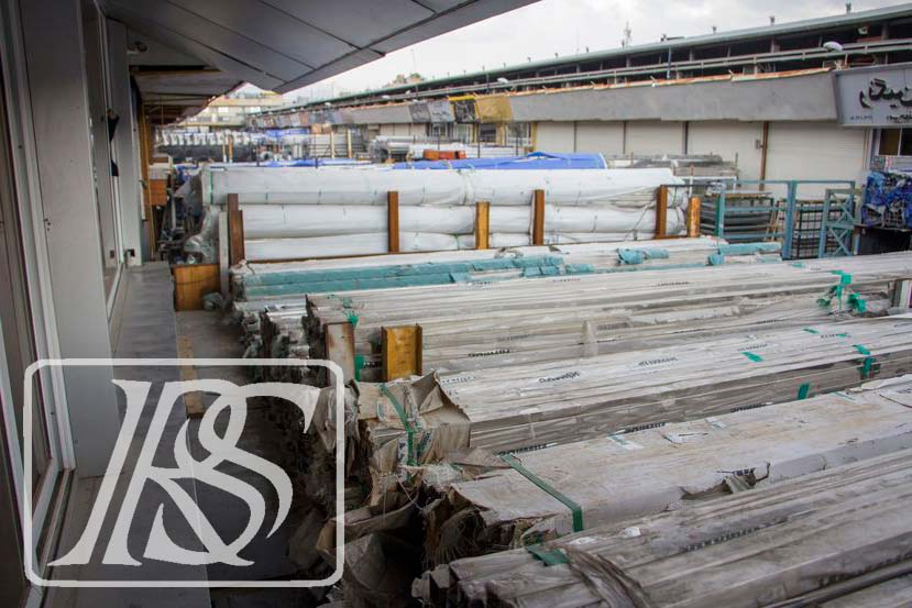 واردات پروفیل استیل در ایران توسط شرکت استیل رونیک